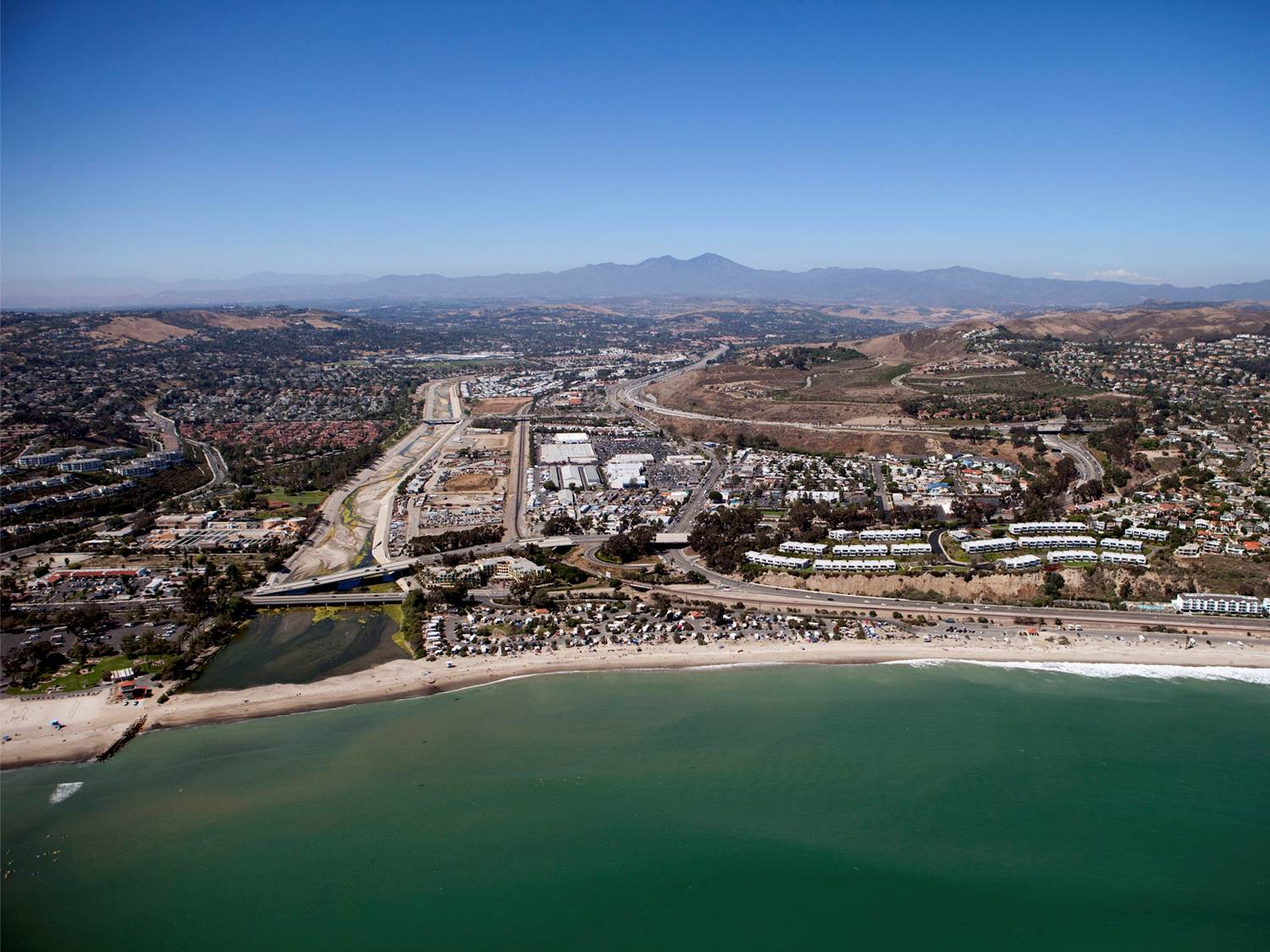 The downtown area of Capistrano Beach known as Doheny Village is the subject of a revitalization project now in the planning stages. Photo courtesy of ROMA Design Group/Tom Lamb Photography