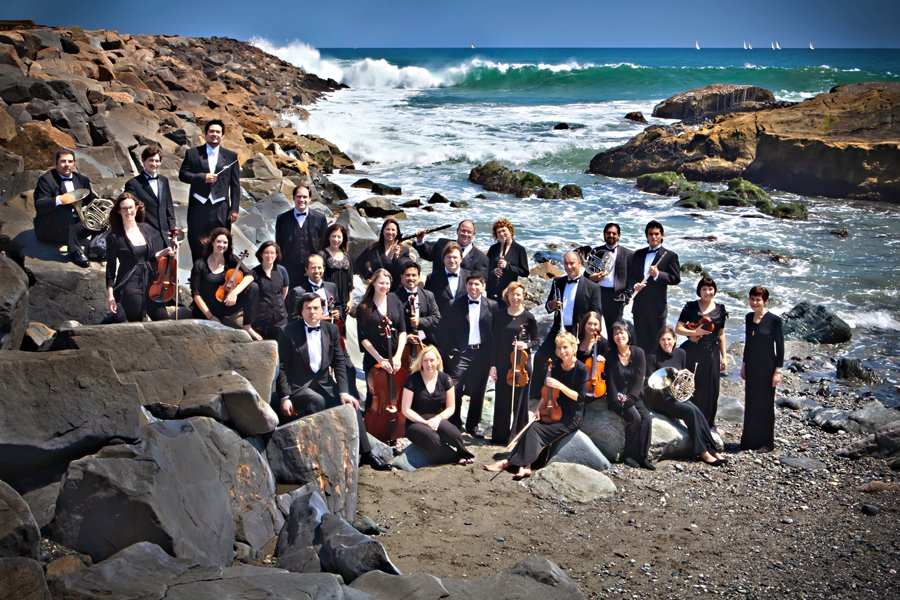The Dana Point Symphony Orchestra. Photo by Robin Gray