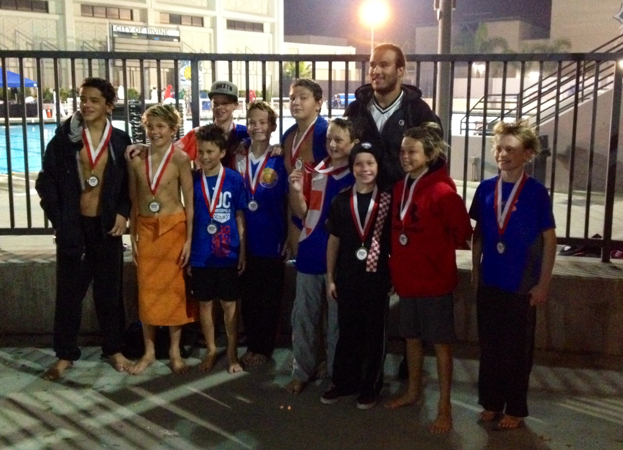 OC Water Polo Club Claims Holiday Cup Dana Point Times