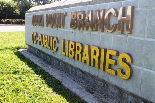 The Dana Point Library will close this summer for a skylight repair project. The local branch is expected to be reopened in September. Photo: Andrea Papagianis