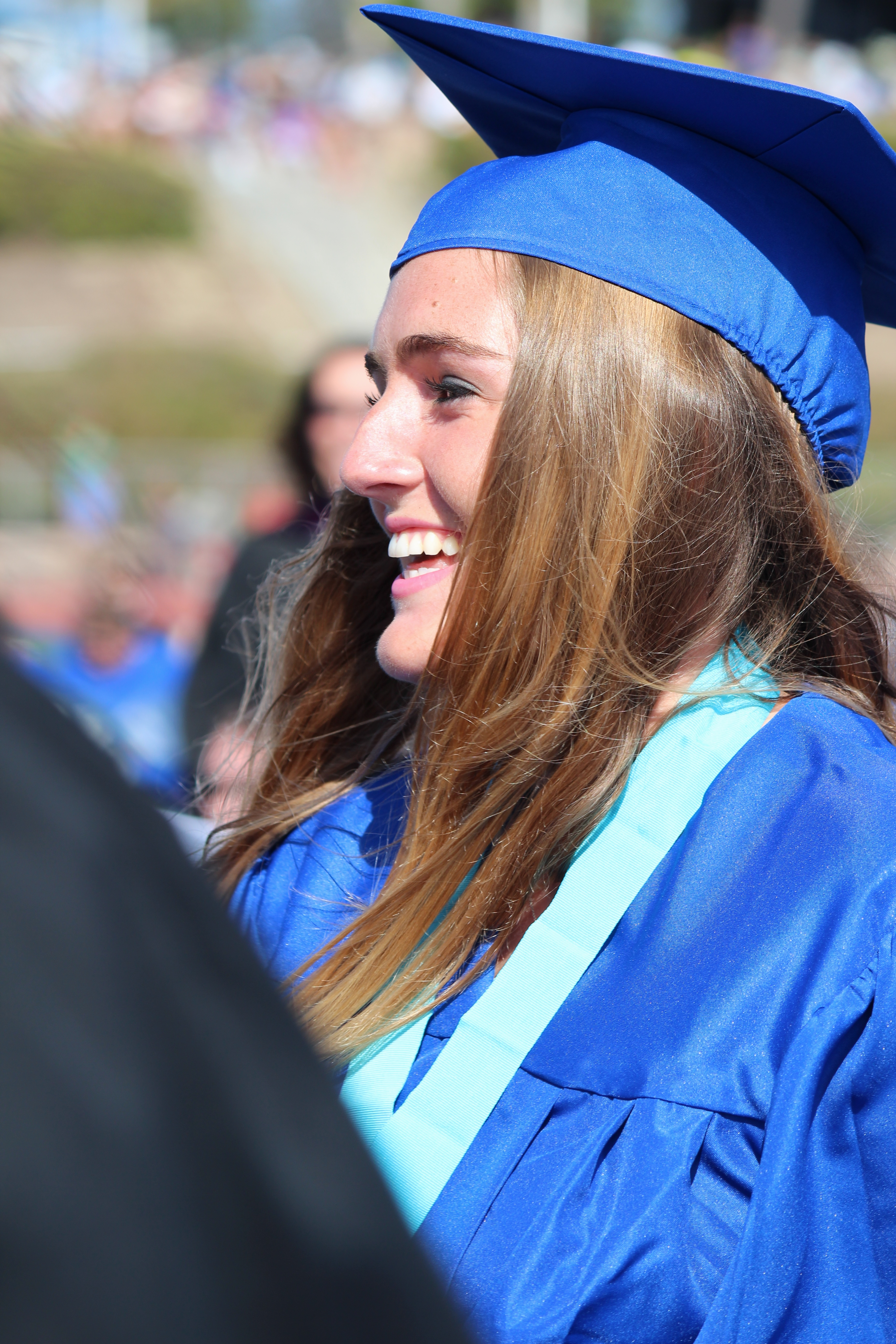 Graduates Recieve Their Diplomas