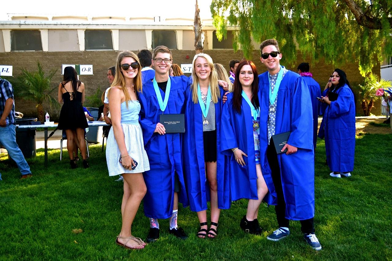 Class of 2014 Graduates Celebrate