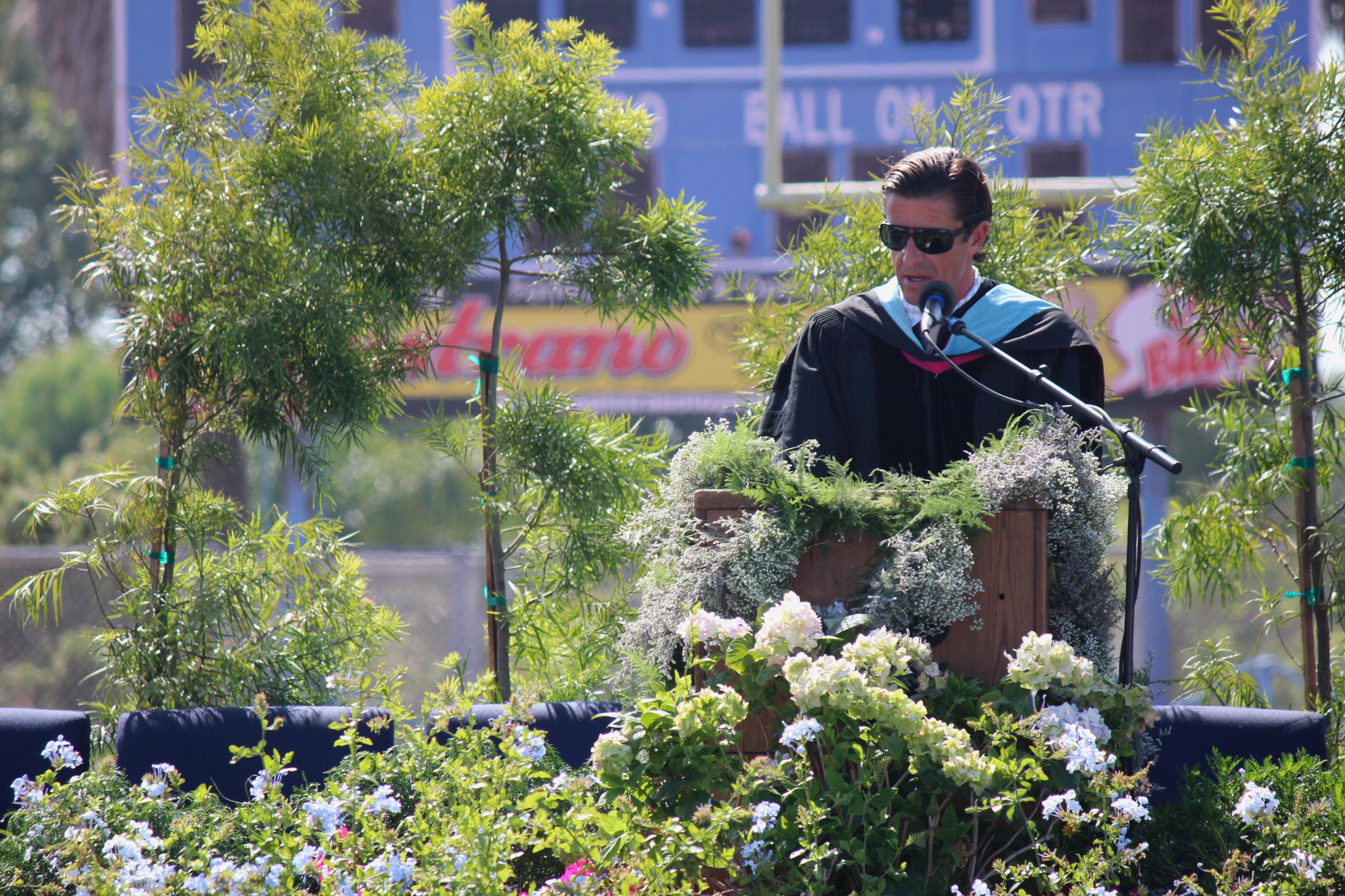 Principal Jason Allemann Gives Graduates Advice
