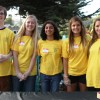 Members of the Dana Hills High School Interact Club volunteer at the Monarch Beach Sunrise Rotary Club's Lobster Fest last year. Tickets for the fifth annual event, which sold out last year, are now available online. Photo: Andrea Papagianis