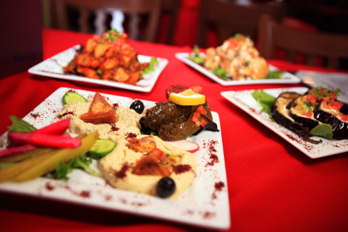 Appetizers from The Olives Branch. Courtesy photo