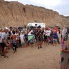 A crowd gathered Sunday at San Onofre State Park, Trail 6 for the grom divisions award presentation at the Western Surfing Association 2014-2015 season opener. Photo: Andrea Swayne