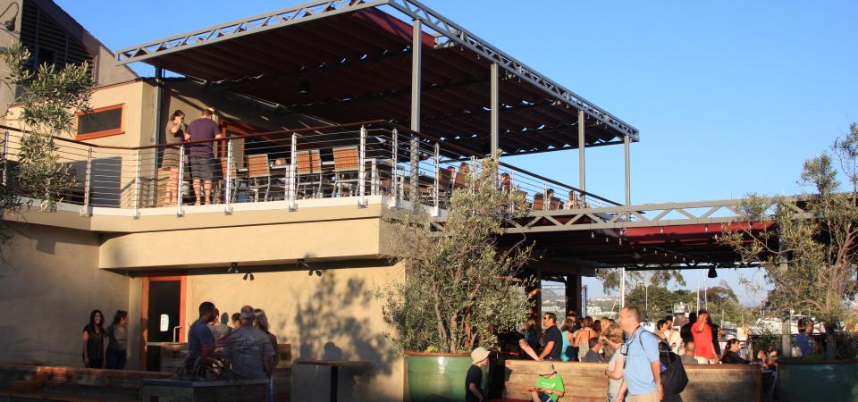 The Waterman's Harbor Restaurant opened Monday at the Dana Point Harbor. Photo: Andrea Swayne