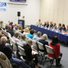 Candidates for Dana Point City Council participate in a public forum on Oct. 9 at the Community Center. Photo: Andrea Swayne