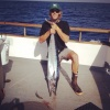 San Clemente's Jake Graff poses with a 36-pound wahoo that he caught on Oct. 16. Courtesy photo