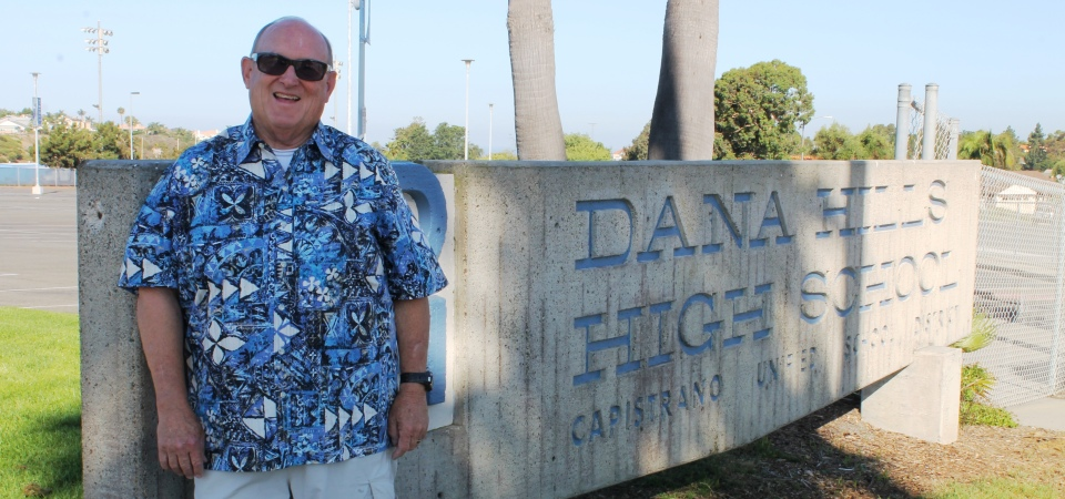CUSD is set to eliminate the Intervention Support Specialist position at Dana Hills High School, a role Mike Darnold has filled since the program's inception in 2009. Photo: Andrea Papagianis