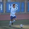 Senior forward Paul Romero has scored in consecutive games for the Dana Hills boys soccer team. Photo: Steve Breazeale