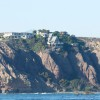 The 1957 Headlands cliffside Cook's Point A-frame was awarded the 39th spot on Dana Point's Historic Resouerces Register on Jan. 12 by the Planning Commission. Photo: Andrea Swayne
