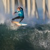 Deisel Rathgeber (San Clemente) at WSA event No. 7, Feb. 14-15, Huntington Beach Pier. Photo: Jack McDaniel