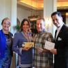 The first winners of the Shop Del Prado Contest were presented with their prizes on Feb. 13 at the St. Regis Monarch Beach Resort. Shown here (L to R) are Heather Johnston, Dana Point Chamber of Commerce executive director; contest winners Kara Taub and Dr. Marc Taub, and Joe Martino, director of sales and marketing for the St. Regis. Photo: Courtesy