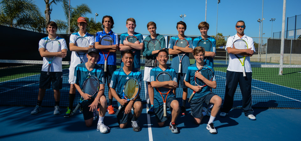 The Dana Hills boys tennis team heads into the season with a new head coach. Photo: KDahlgren Photography