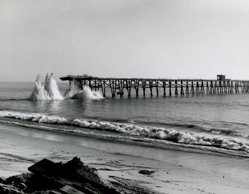 It s history capistrano pier only memories remain dana for Dana point pier fishing