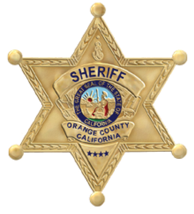sheriff badge star logo