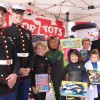 WSA competitors donate gifts at last year's surf contest and Toys for Tots toy drive. Photo: Andrea Swayne