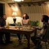 "(L-R) John Goodman as Howard, Mary Elizabeth Winstead as Michelle, and John Gallagher Jr. as Emmett in ""10 Cloverfield Lane."" Photo: Paramount Pictures"