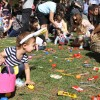 Children gather eggs and candy at the city's annual egg hunt event, March 26 at Sea Canyon Park. Photo: Andrea Swayne