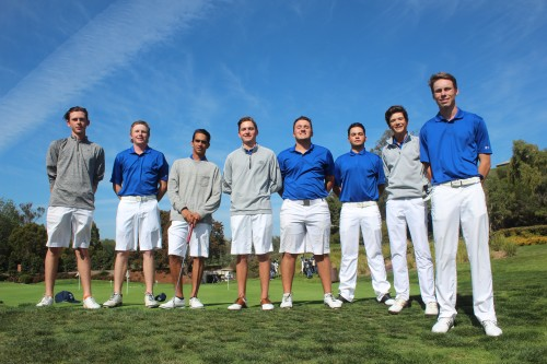 The Dana Hills boys golf team earned a share of the South Coast League title in 2016. Photo: Steve Breazeale