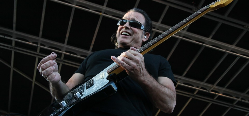 Tommy Castro & The Painkillers rocked the Sailor Jerry stage on Sunday. Photo: Allison Jarrell