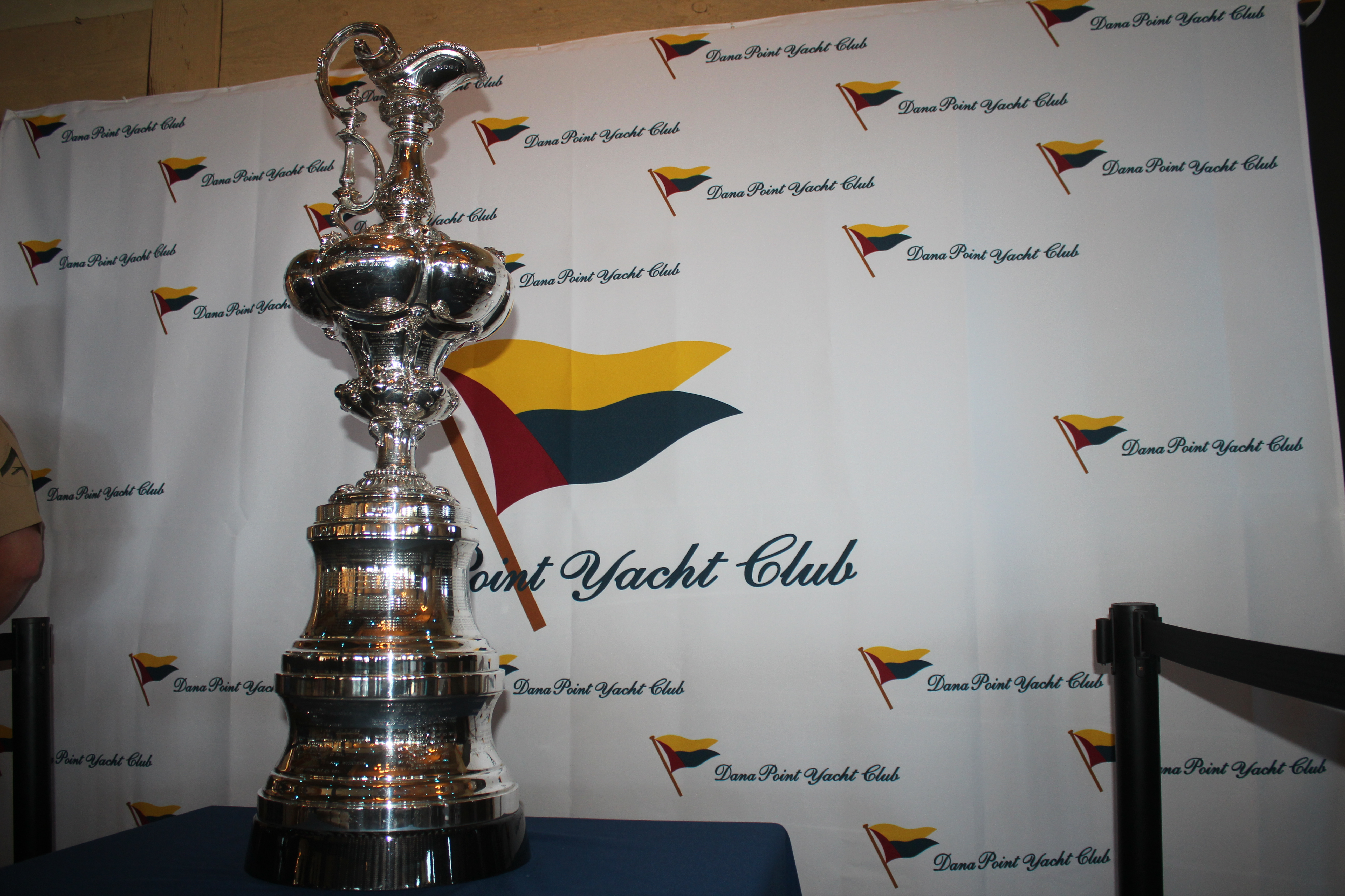 The 165-year-old America's Cup trophy is the oldest in international sport. Photo: Steve Breazeale
