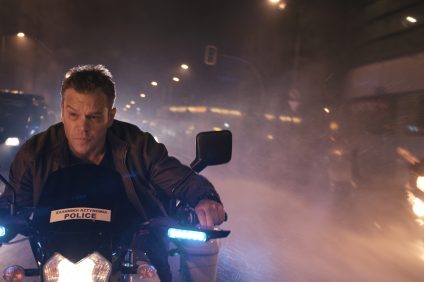 """MATT DAMON returns to his most iconic role in """"Jason Bourne.""""  Paul Greengrass, the director of The Bourne Supremacy and The Bourne Ultimatum, once again joins Damon for the next chapter of Universal Pictures' Bourne franchise, which finds the CIA's most lethal former operative drawn out of the shadows."""