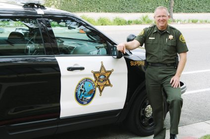 Dana Point Police Chief Lt. Russ Chilton discusses policing and community relationships. Chilton has been with the city for more than 30 years. Photo: Kristina Pritchett