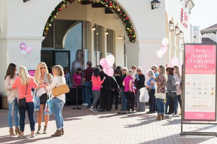 The second annual Shopping Extravangza will benefit local organizations in Dana Point. Photo: Courtesy of the Outlets at San Clemente