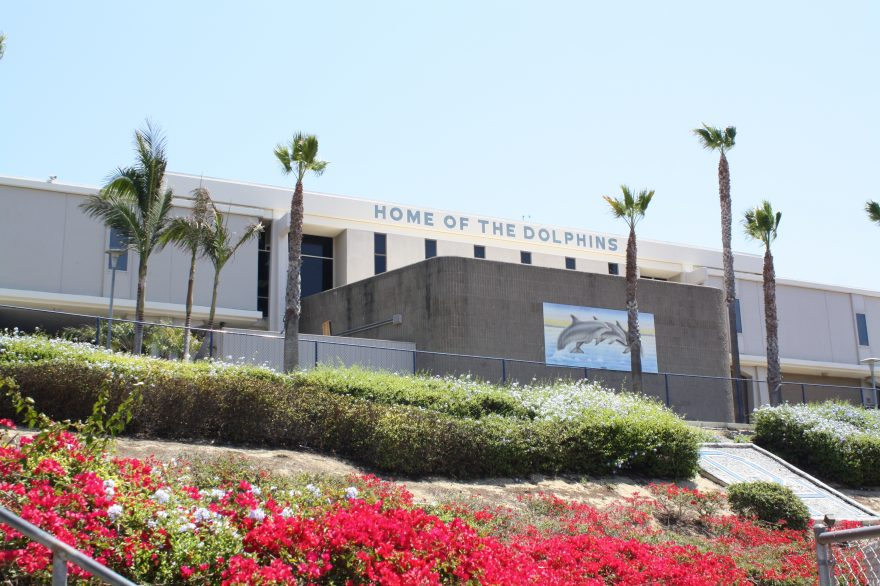 Dana Hills High School is one of the schools that would be upgraded with an $889 million bond. CUSD board members will vote next week to decide whether the bond should be on the November ballot. Photo: Kristina Pritchett