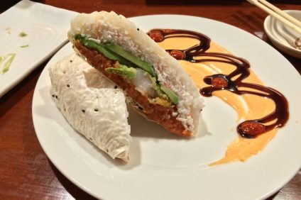 Sushi Burrito at Gen Kai