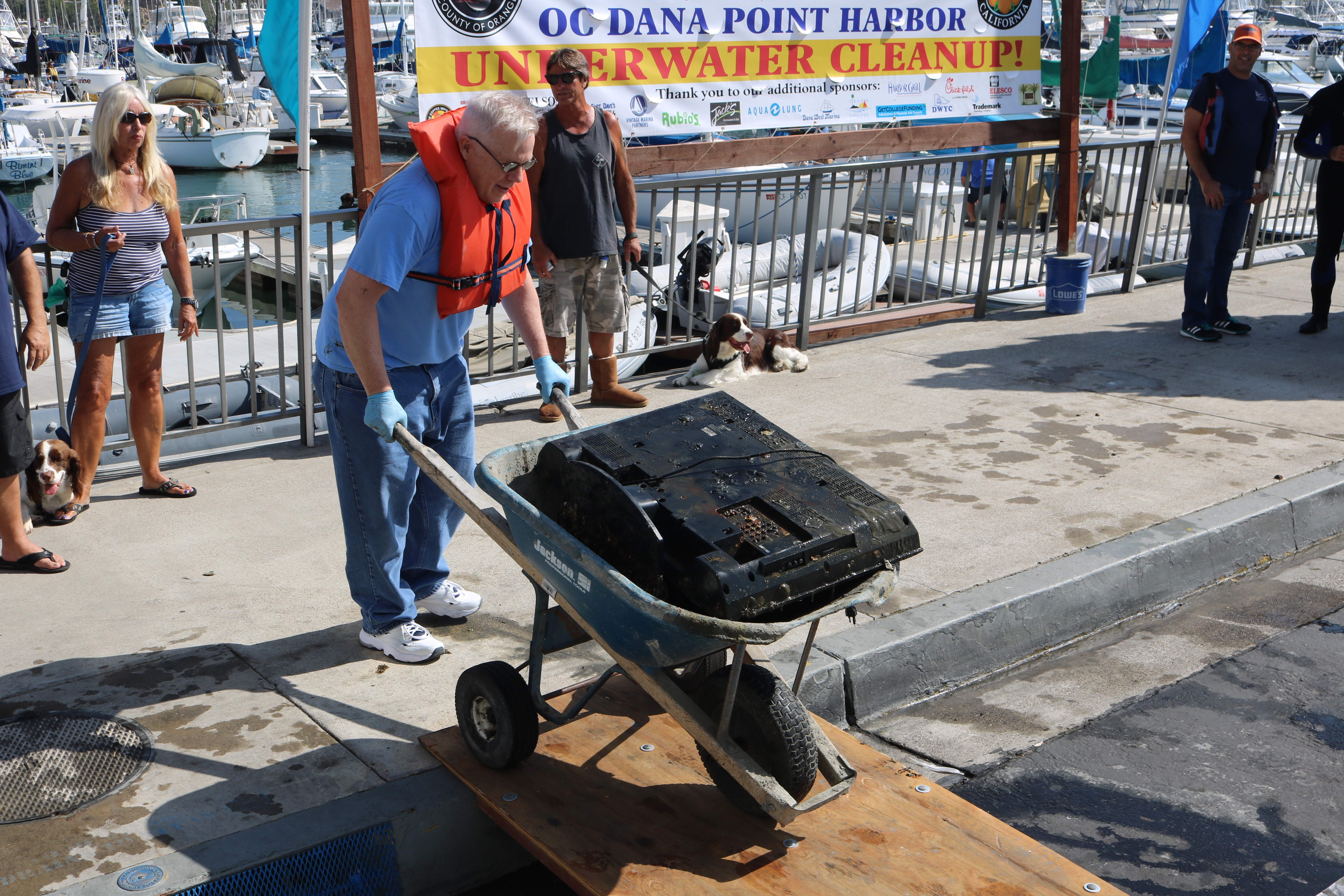 Dana Point Harbor Holds Underwater Cleanup | Dana Point Times