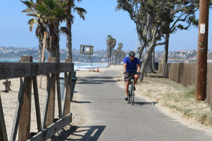 City Council approved the second phase of a bike/pedestrian path along Pacific Coast Highway. Photo: Kristina Pritchett