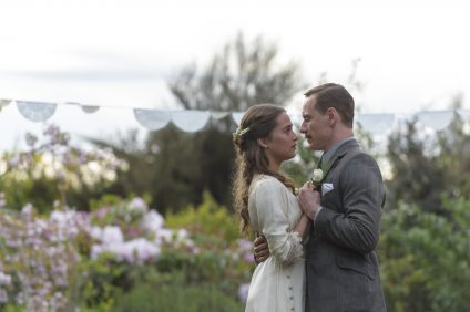 Michael Fassbender stars as Tom Sherbourne and Alicia Vikander as his wife Isabel in DreamWorks Pictures poignant drama THE LIGHT BETWEEN OCEANS, written and directed by Derek Cianfrance based on the acclaimed novel by M.L. Stedman.