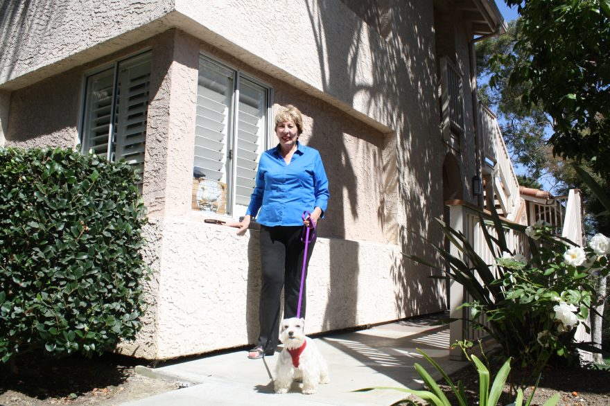 Betha Everett, a Dana Point homeowner, rents out one of her properties to short-term renters. Photo: Kristina Pritchett