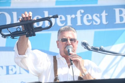 Oktoberfest was held at Sea Terrace Park on Saturday, Oct. 15. A variety of beer, wine and German food was available. Photo: Eric Heinz