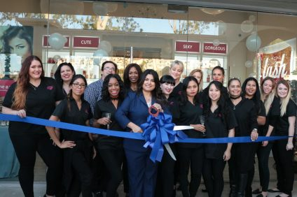 Amazing Lash Studios celebrated their official open with a ribbon cutting ceremony with the Dana Point Chamber of Commerce on Tuesday, Nov. 29. Photo: Kristina Pritchett
