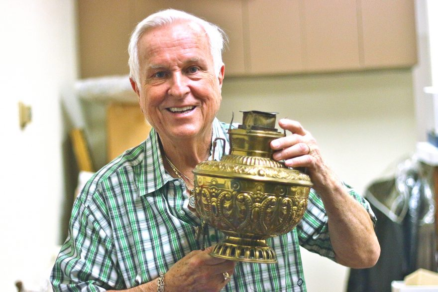 Josh McDowell, author and Christian minister, will sell many of the items he's collected around the world over several decades on Dec. 10 and 11 at a Christmas Market at Heritage Christian Fellowship. Photo: Eric Heinz