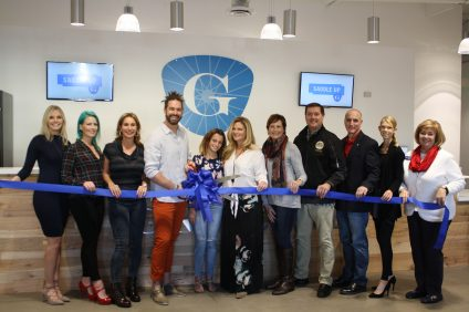 GritCycle Monarch Beach celebrated its official open with a ribbon cutting ceremony on Friday, Dec. 2. Photo: Kristina Pritchett
