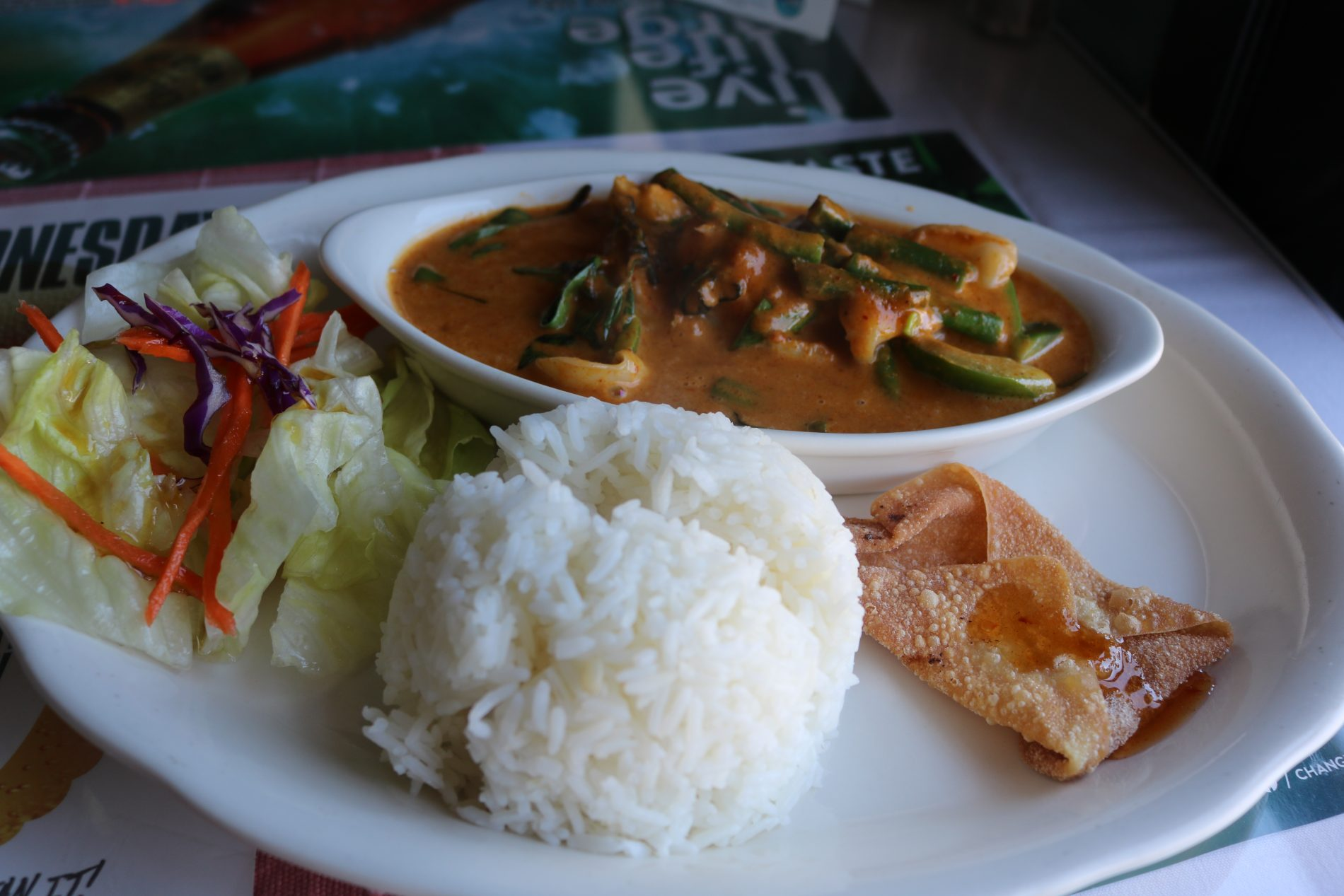 The Dish: Panang Curry with Shrimp and Squid | Dana Point Times