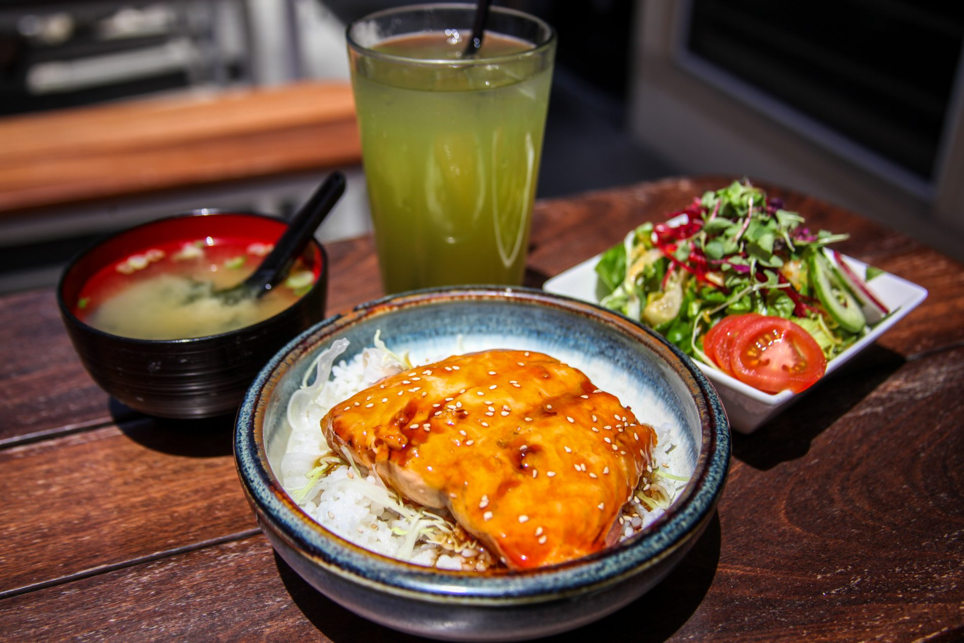 The Dish: Salmon Teriyaki Donburi | Dana Point Times