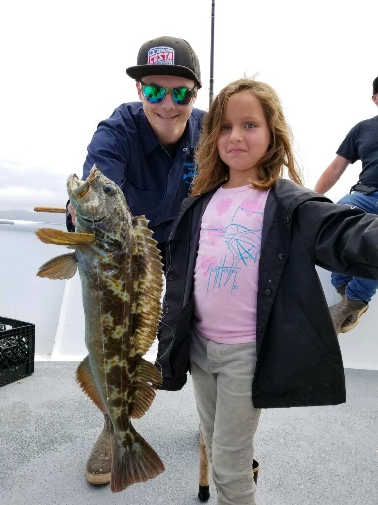 Dana wharf fish count bass rise to the surface dana for Dana point fish report