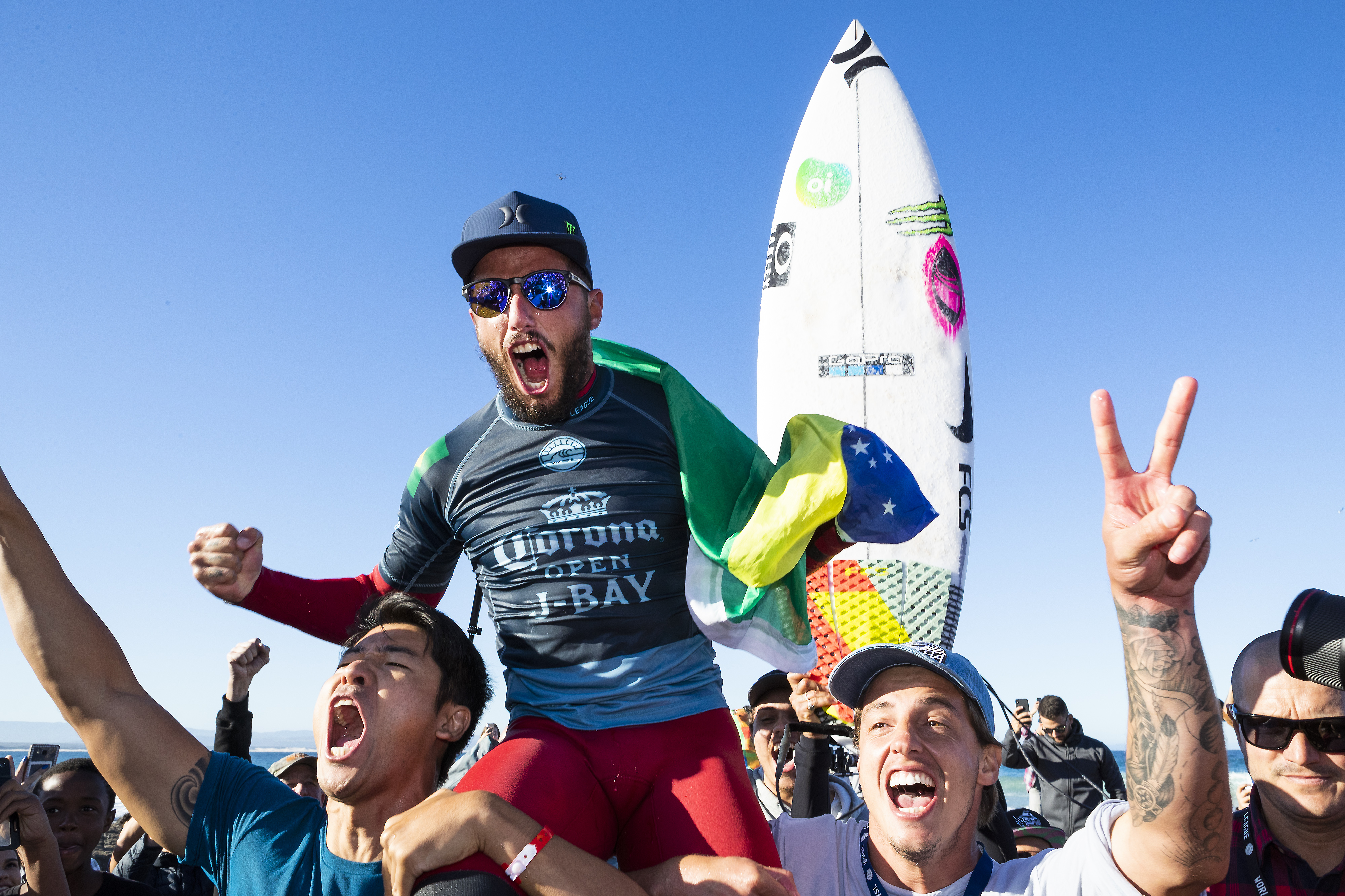 Toledo Takes J-Bay, Again Filipe Toledo asserts himself at the world's best right-hand pointbreak, comes away with back-to-back titles   Dana Point Times