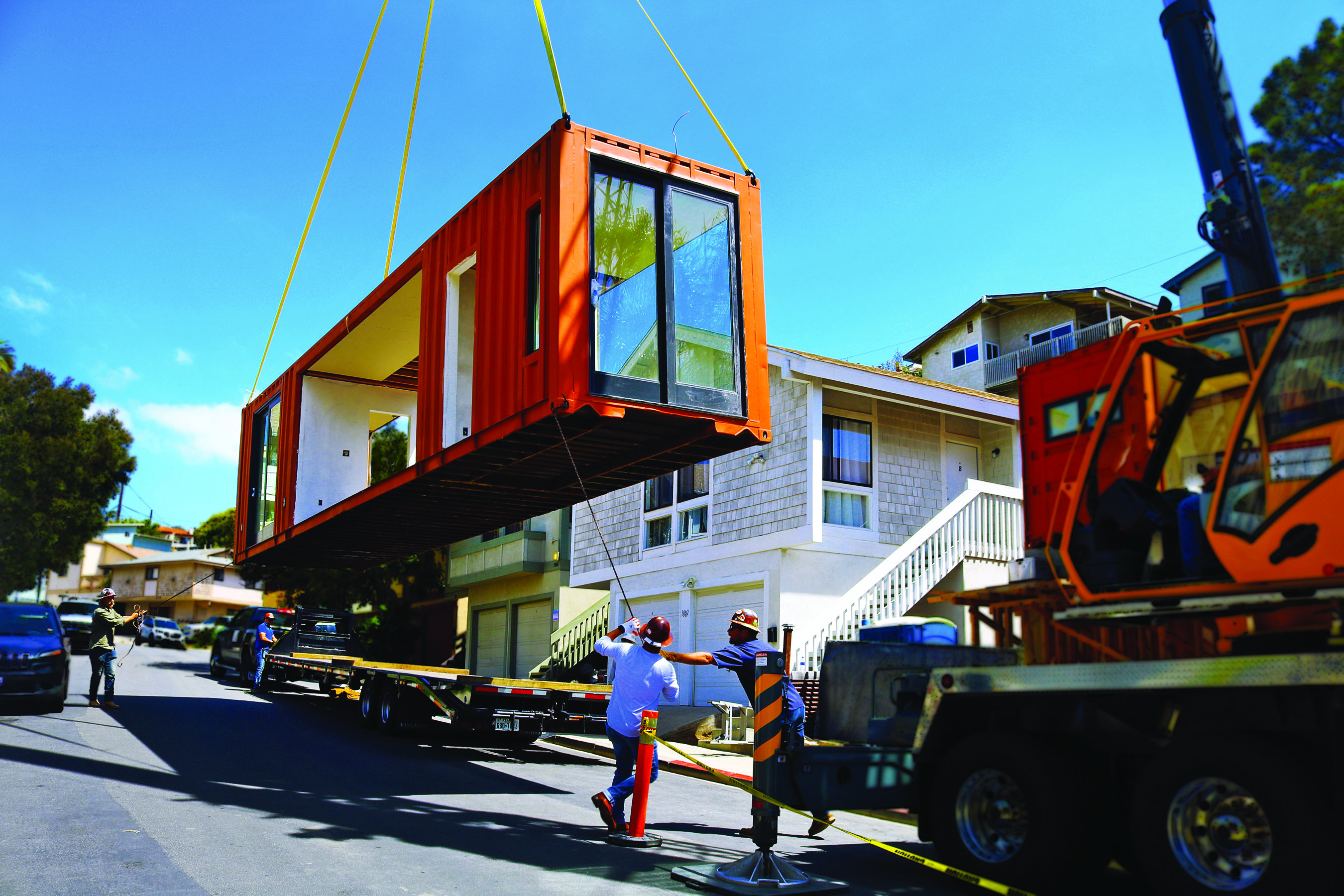 Out of the Box: Dana Point Couple Installs Freight ... Railroad Containers Houses Plans on railroad freight houses, railroad construction houses, railroad home, railroad box houses, railroad boxcar houses,